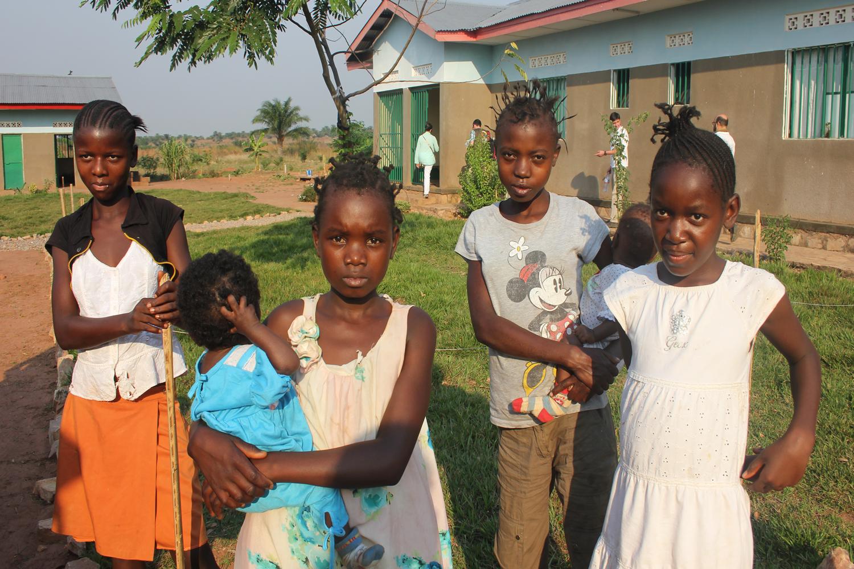 Niños del Orfanato La Bonte R.D
